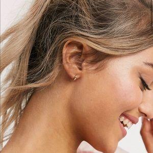 ASOS Gold Huggie Hoop Earring